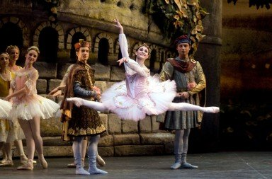 American Ballet Theatre's Sarah Lane in 'The Sleeping Beauty' Photo © Rosalie O'Connor