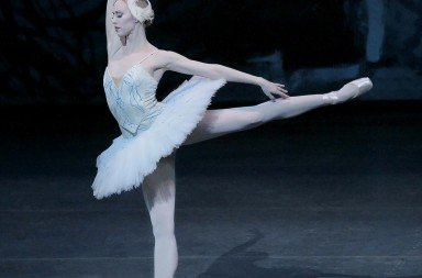 "New York City Ballet's Teresa Reichlen in ""Swan Lake"" Photo © Paul Kolnik"