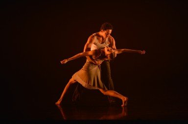Company Chameleon (here Kevin Edward Turner and Elena Thomas) in 'Eden'. Photo © Brian Slater