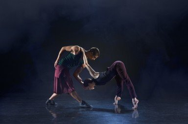 Rambert Dance Company in Ashley Page's 'Subterrain'.  Photo © Chris Nash
