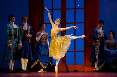 "Maria Kochetkova in ""Cinderella"" Photo © Erik Tomasson"