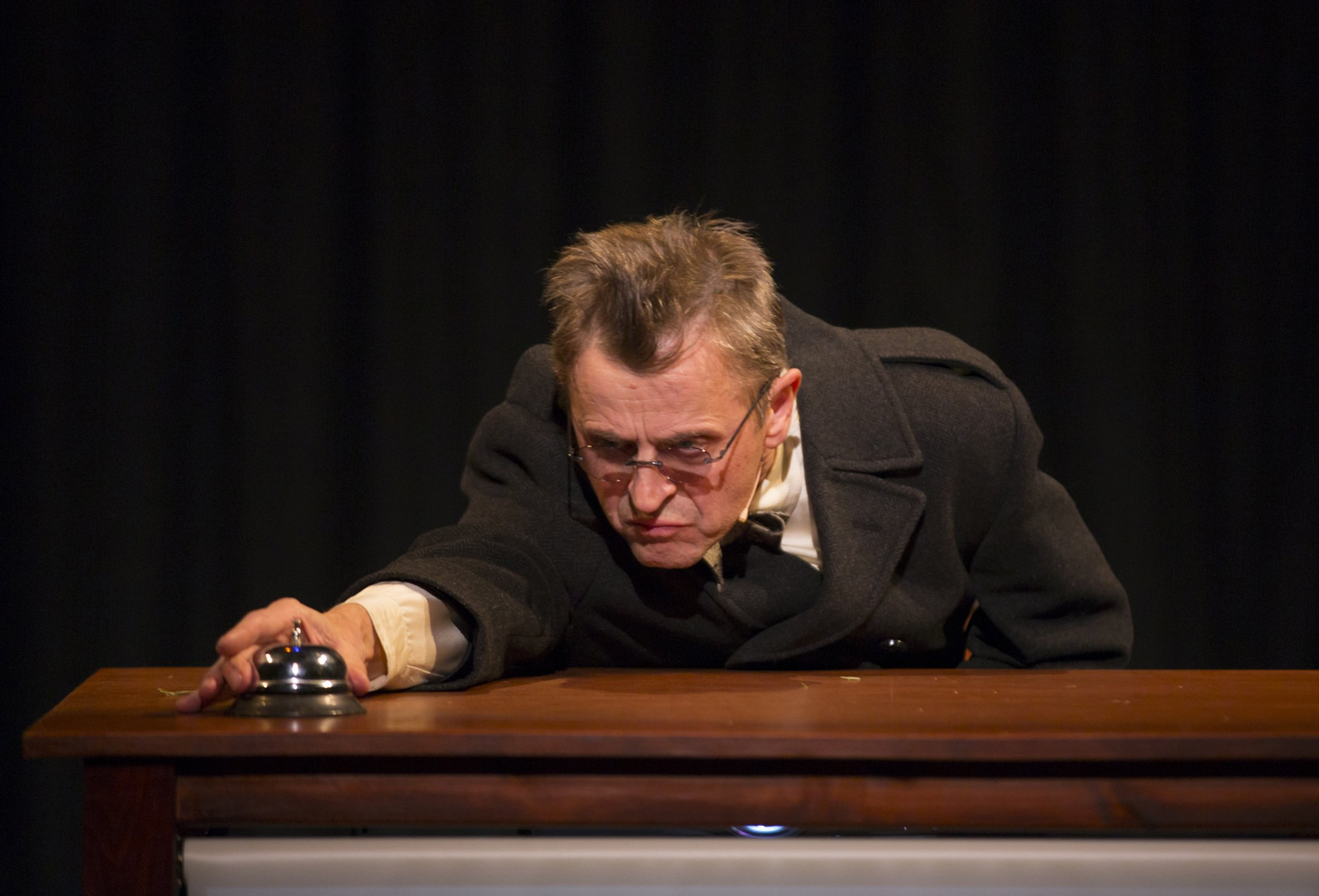 """Man in a Case"""": Adapted and directed by Annie-B Parson and Paul"""