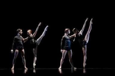The Estonian National Ballet in Wayne McGregor's 'Symbiont(s)'. Photo © Estonian National Ballet