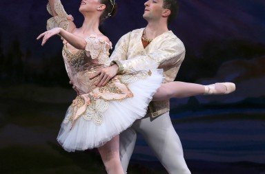 "Shaye Firer and Marc St. Pierre in ""Nutcracker"" Photo © Leighton Chen"