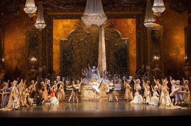 Dutch National Ballet in Peter Wright's production of 'The Sleeping Beauty'. Photo © Angela Sterling