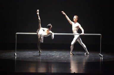Lucia Lacarra and Marlon Dino from the Bayerisches Staatsballett in Ben Stevenson's 'Three Preludes'. Photo © Art Wave Inc.