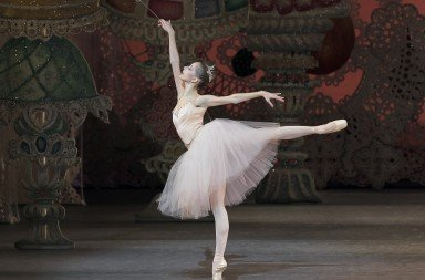 "Rebecca Krohn in ""George Balanchine's 'The Nutcracker'"" Photo © Paul Kolnik"