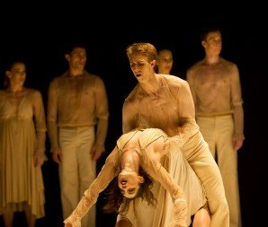 Abigail Boyle and Paul Mathews in 'Banderillero'. Photo © Bill Cooper