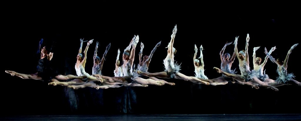 Les Ballets de Monte-Carlo in 'LAC'.  Photo © Alice Blangero
