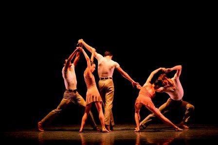 New York City Ballet in Angelin Preljocaj's 'La Stravaganza'.  Photo © Paul Kolnik