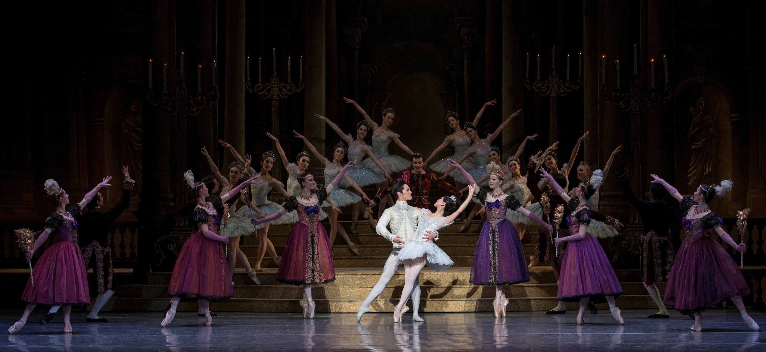 "Boston Ballet in ""Cinderella""  Photo © Gene Schiavone"