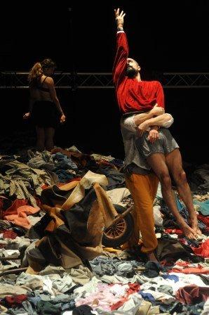 les Ballets C de la B in Alain Platel's 'tauerbach'. Photo © Chris Van der Burght