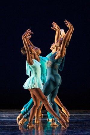 Dance Theater of Harlem in Robert Garland's 'Gloria'.  Photo © Matthew Murphy