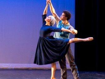 New York Theatre Ballet in 'Dark Elegies'. Photo © Dariel Sneed