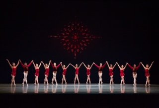 "Boston Ballet in ""Rubies"" Photo © Rosalie O'Connor"