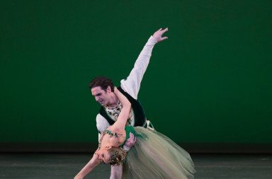 "Ashley Ellis and Yury Yanowsky in ""Jewels"" Photo © Rosalie O'Connor"