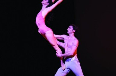 "Pennsylvania Ballet in ""After the Rain"" Photo © Alexander Iziliaev"