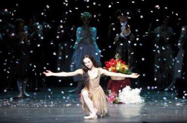 Diana Vishneva's curtain call following 'Manon'.  Photo © Gene Schiavone