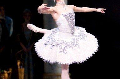"""Kaori Nakamura in """"The Sleeping Beauty"""" Photo © Angela Sterling"""