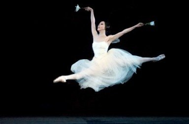 "Hee Seo in a previous performance of ""Giselle"" Photo by Gene Schiavone."