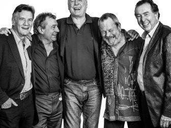 (l-r) Michael Palin, Terry Jones, John Cleese, Eric Idle and Terry Gilliam Photo © Andy Gotts