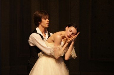 Nijinsky Gala 2014 (02). Artem Ovcharenko and Olga Smirnova in 'Lady of the Camelias'.  Photo © Holger Badekow