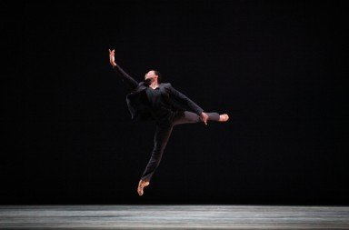 "Jermel Johnson in ""Penumbra"" Photo © Alexander Iziliaev"