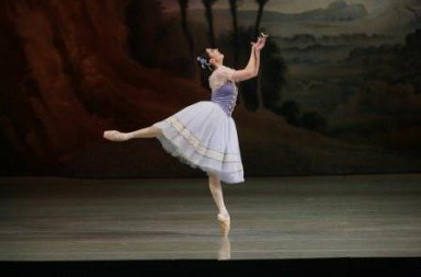 Veronika Part as Giselle.  Photo © Natasha Razina