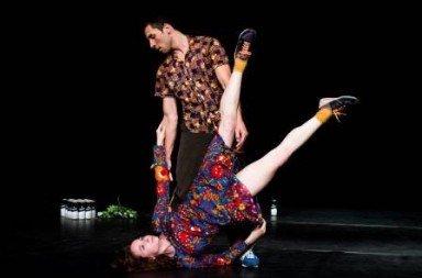 Carlo Massari and Chiara Taviani in 'Maria Addolorata'.  Photo © Alex Brenner