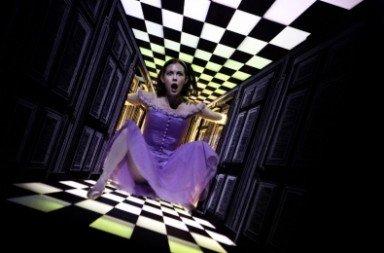 Jillian Vanstone as Alice in Christopher Wheeldon's 'Alice's Adventures in Wonderland'. Photo © Cylla von Tiedemann
