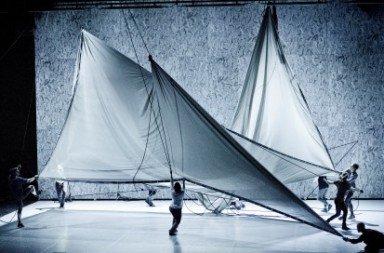 Cullberg Ballet in 'The Plateau Effect'.  Photo © Urban Jörén