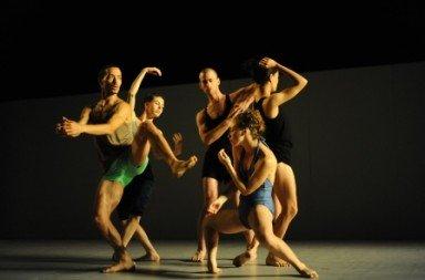 Batsheva Dance Company in 'Sadeh21'.  Photo © Gadi Dagon