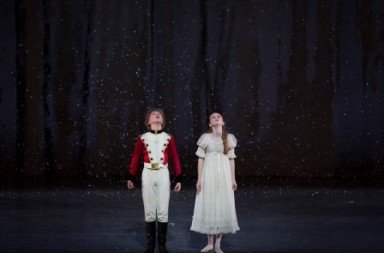 Emilie Trauchessec and Kent Andrews in 'The Nutcracker'.  Photo © Rosalie O'Connor