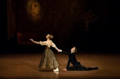 Friedemann Vogel as Onegin and Alicia Amatriain as Tatiana in John Cranko's 'Onegin'. Photo © Roman Novitzky 2 - Copy