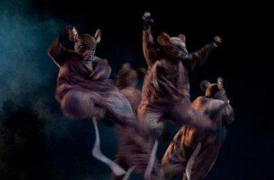 Oregon Ballet Theatre in George Balanchine's 'The Nutcracker'.  Photo © James McGrew