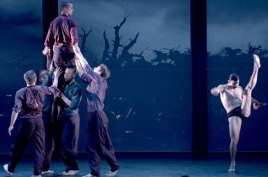 BalletBoyz in 'Young Men'. Photo © George Piper
