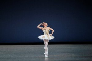"Sara Mearns in a previous performance of George Balanchine's ""Cortege Hongrois"" Photo © Paul Kolnik"