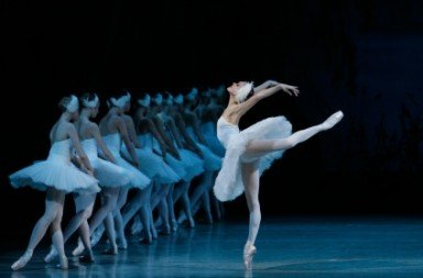 Ulyana Lopatkina in 'Swan Lake'.  Photo © Natasha Razina