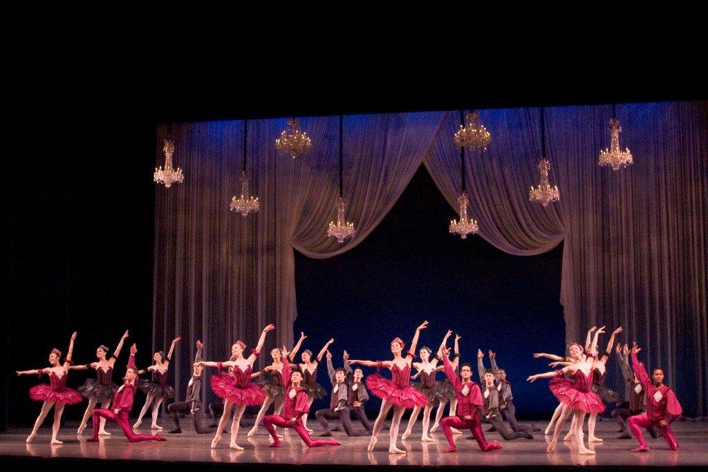 Ballet San Jose in George Balanchine's 'Theme and Variations'. Photo ©  Robert Shomler