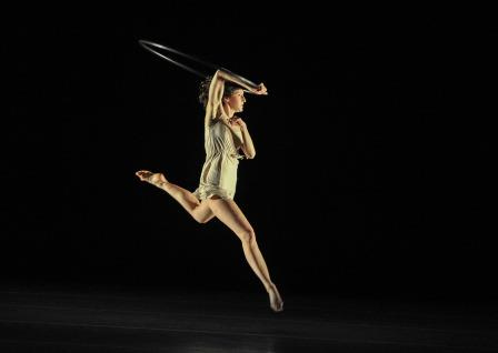 DancerChoreographer Gabrielle Revlock performs Halo at the Chop Shop Contemporary Dance Festival, 2015.  Photo © Rex Tranter