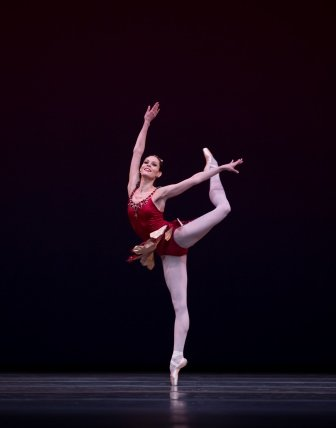 Igone de Jongh in 'Rubies'.  Photo © Angela Sterling