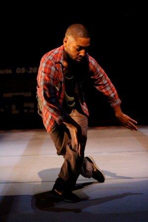 Kyle Abraham in Pavement.  Photo Steven Schreiber
