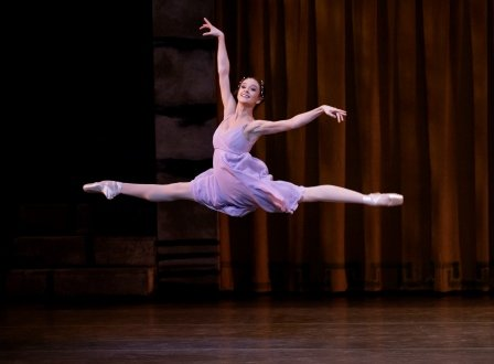 Lauren Lovette as Juliet in Peter Martins' Romeo + Juliet'.  Photo © Paul Kolnik