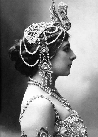 Mata Hari, taken in 1910