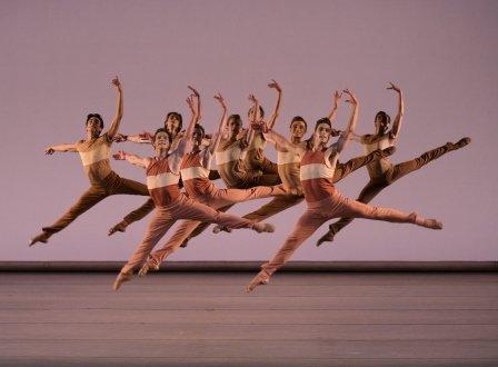 New York City Ballet in Peck's 'Rōdē,ō Four Dance Episodes'. Photo © Paul Kolnik