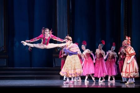 Avery Reiners as the Jester in Ben Stevenson's 'Cinderella'.  Photo Jingzi Zhao