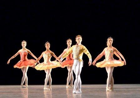 Daniil Simkin in 'Theme and Variations'.  Photo © Gene Schiavone