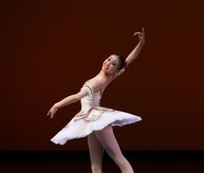 Gold Medal winner, Classical Dance, Senior Women - Yu Kurihara of Ikuko Watanabe Ballet Studio, Japan.  Photo © Siggul-VAM