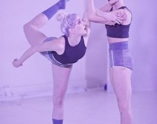 Natascha Greenwalt and Marissa Quimby.  Photo Bret Doss