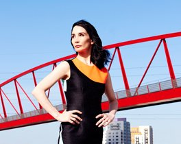 Tamara Rojo at London City Island.  Photo Perry Curties